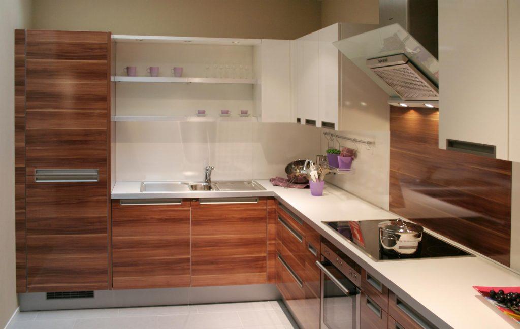 modern kitchen with wood designs